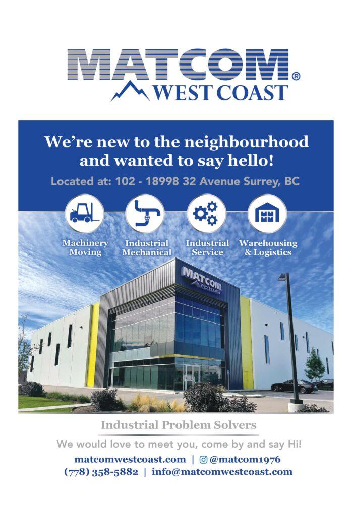 Matcom West Coast Announcement